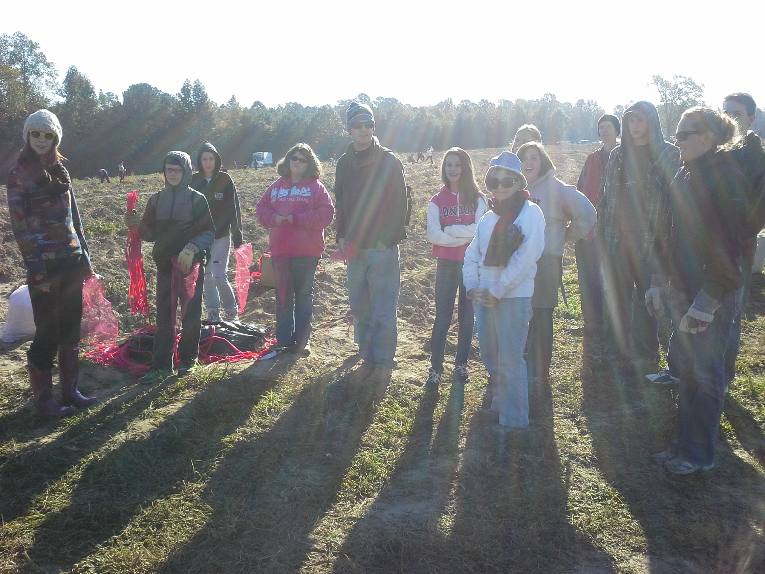 Gleaning with our youth