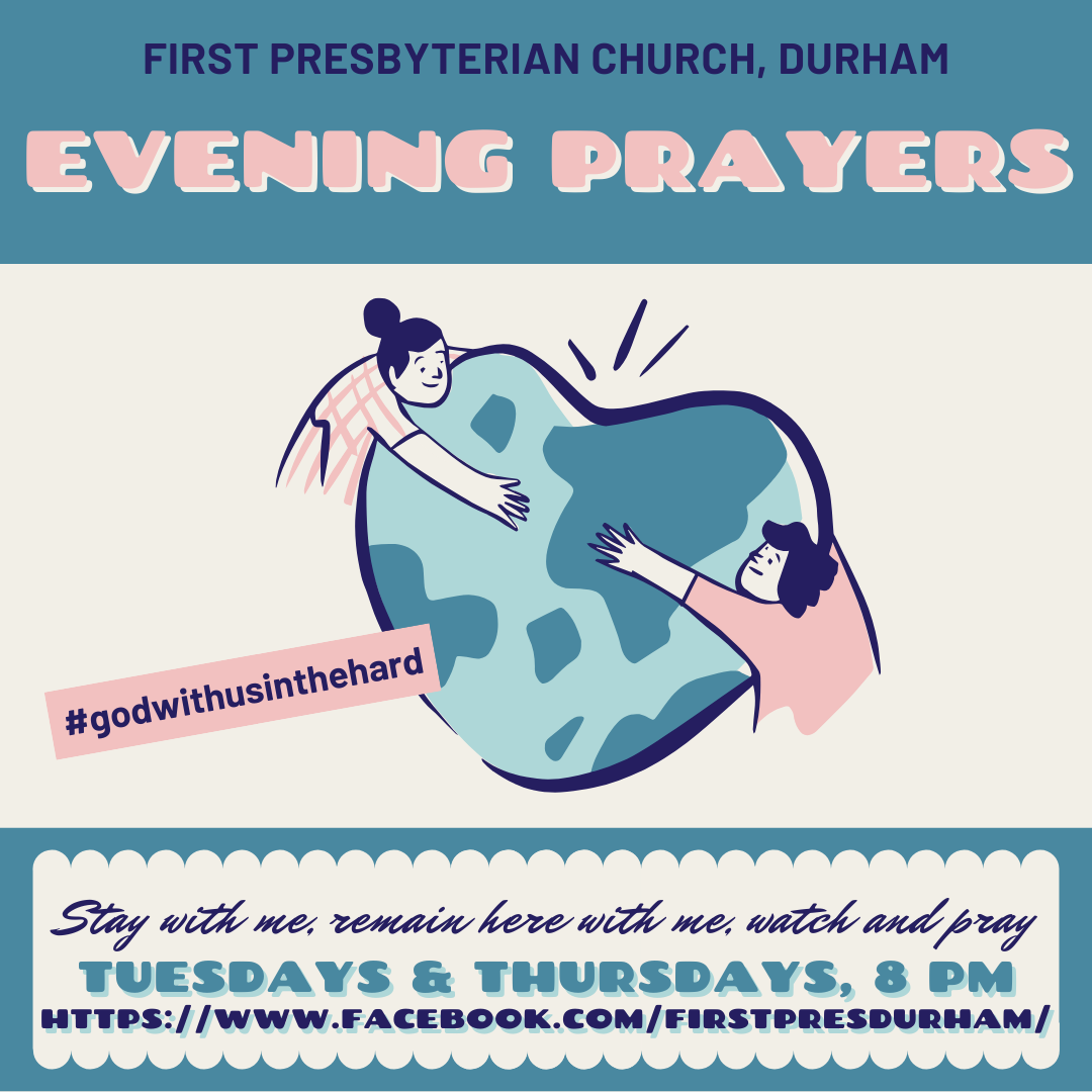 Join us for Evening Prayers